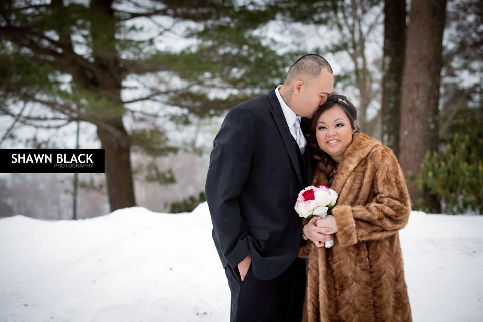 Valentine's Day Winter Wedding Flowers - Soupany & Sam