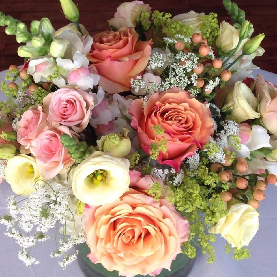 Custom Summer Floral Arrangements - Weddings At The State Room Boston