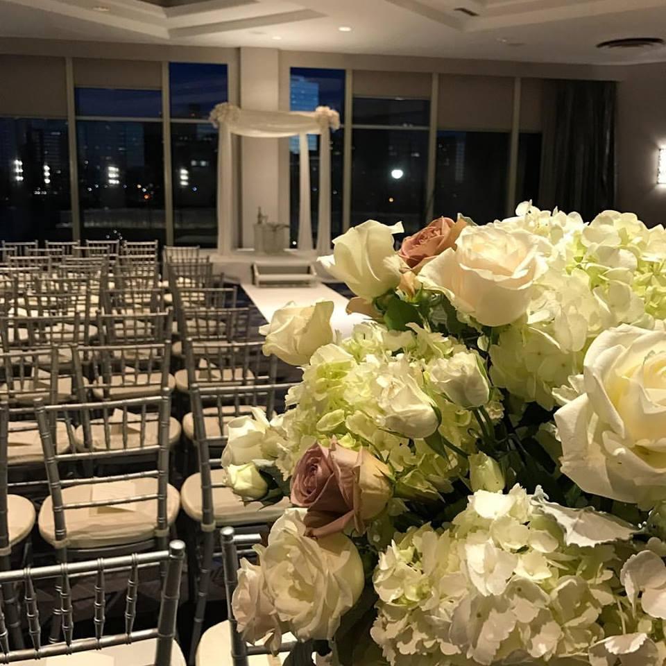New Years Winter Wedding Flowers Boston