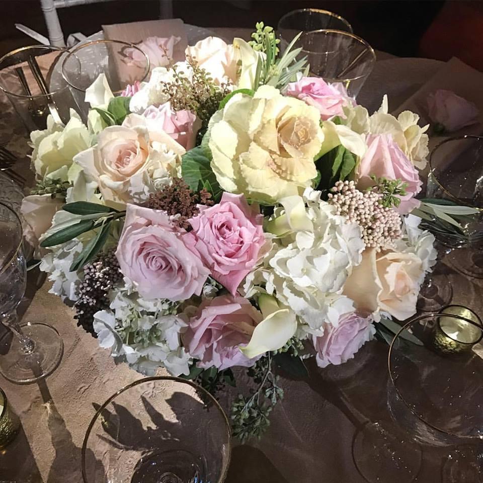 Hampshire House Wedding Open House - Spring Wedding Flowers