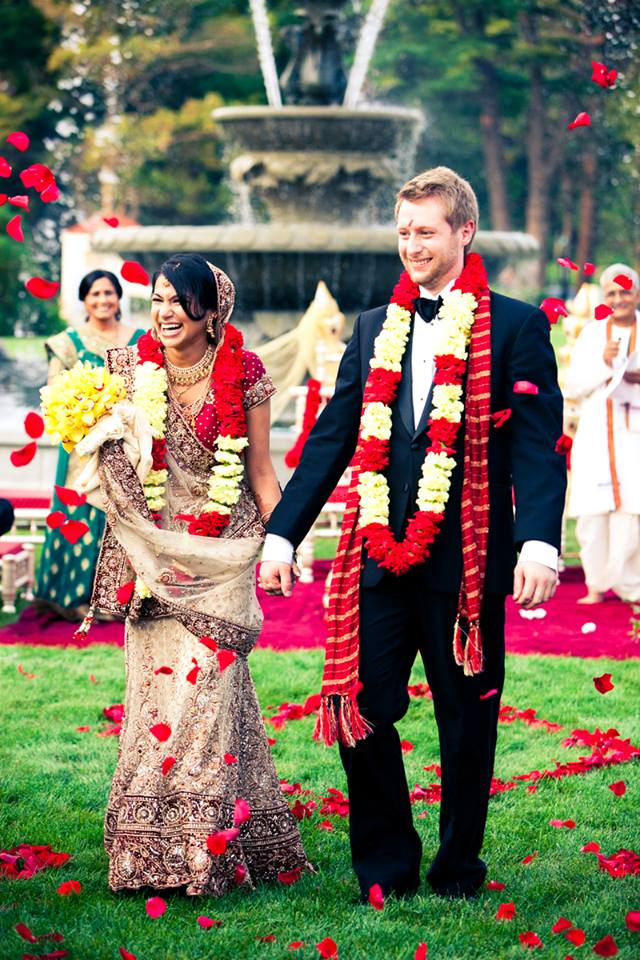 Indian Style Wedding Flowers as Featured In Grace Ormonde Magazine