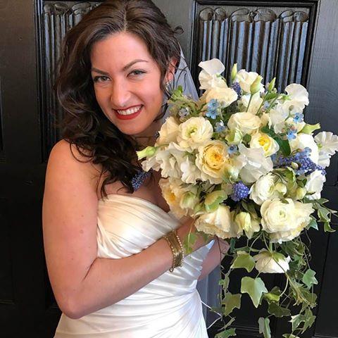 Spring Wedding Bridal Bouquet Flowers