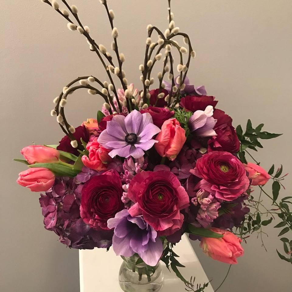 Custom Valentine's Day Floral Designs