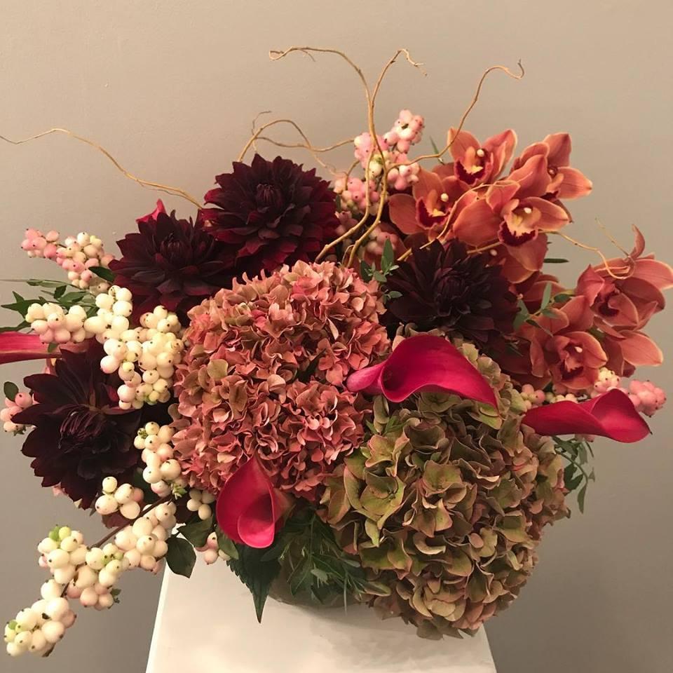 Fall Floral Color Pallettes