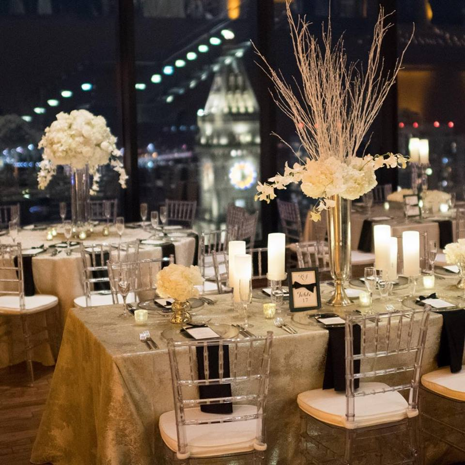 Photograph of Winter Wedding at the State Room Boston